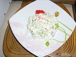 Крабовый салат с авокадо