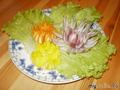 Хризантемы из репчатого лука