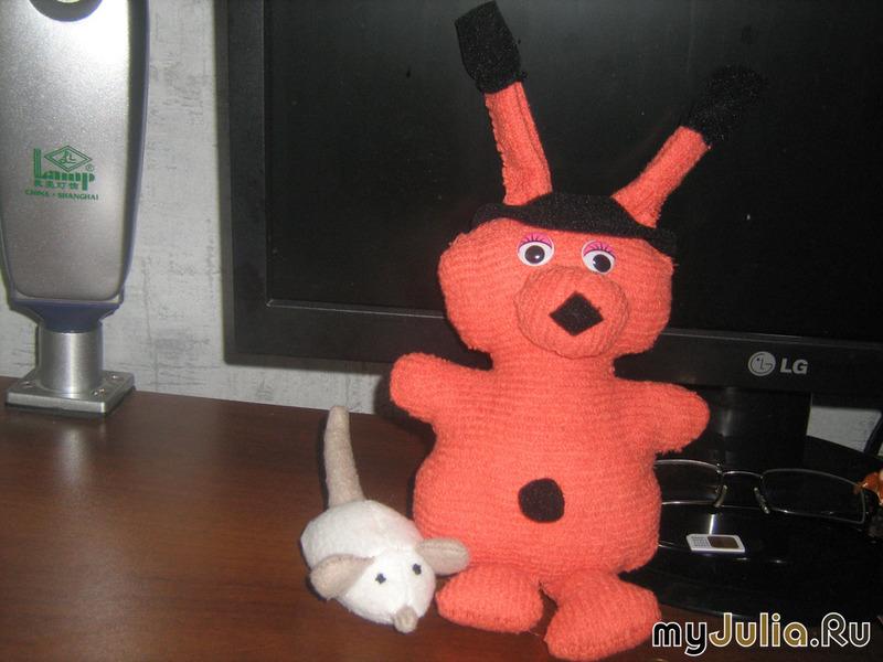 Игрушка инопланетянин своими руками 1053