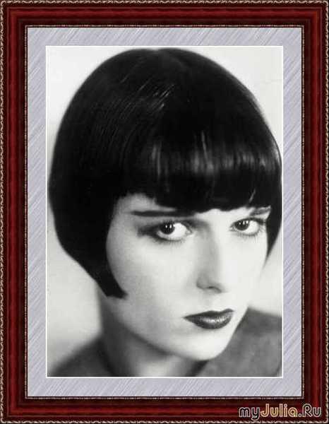 Причёска с короткой чёлкой фото