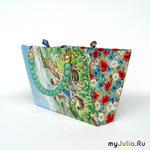 Книга + немного ткани = практически дизайнерская сумка!