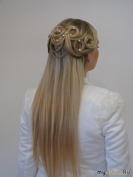 прически для жидких и тонких волос фото на выпускной