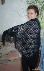 Черный платок