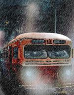 Мокрый автобус