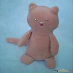 Розовый котенок. С выкройкой