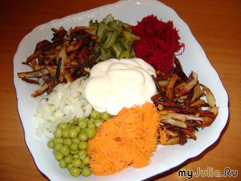 генеральский салат рецепт с фото