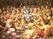 Божества московского храма Кришны - Радха-Кришна