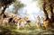 Кришна и демон Агхасура