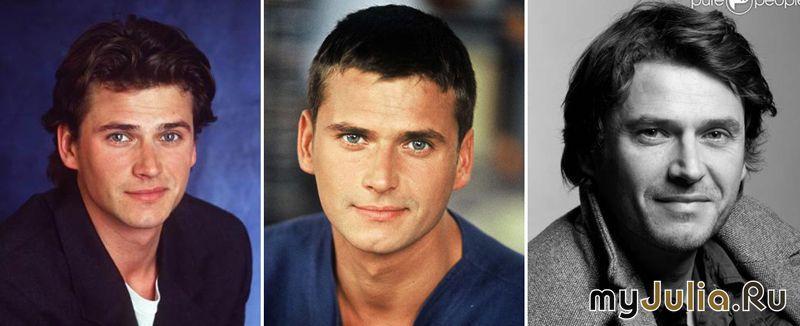 герои сериалов 90-х тогда и сейчас фото