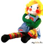 Забавная  кукла
