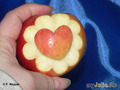 Сердце в цветочке