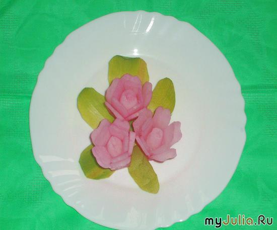 Камелия розовая