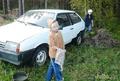 Помогаю мыть авто
