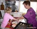 Я с бабушкой на кухне