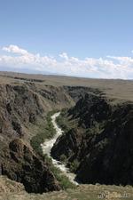 Казахстанский Гранд-каньон.))