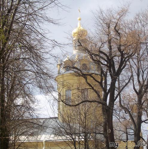Собр Петра и Павла в Петропавловской крепости.