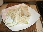 Рис с курицей и черным перцем