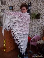 Моя большая белая шаль