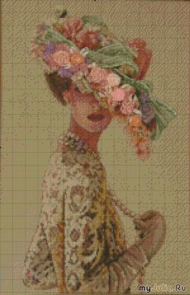 Фирма-производитель Dimensions Оригинальное название Victorian Elegance (Викторианская элегантность)...