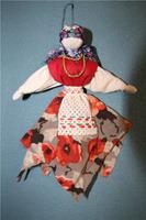 Кукла-закрутка народного мастера Ирины Агаевой.