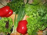 Салатики и разная мелочь с зеленью! Витаминизируемся!