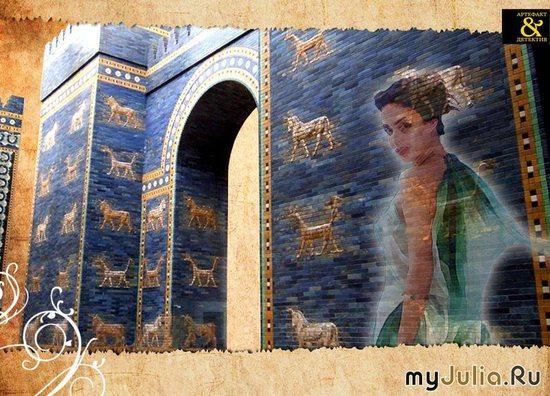 """Кадр из видеосюжета о книге """"Звезда Вавилона""""."""
