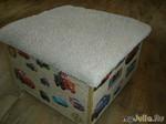 Пуфик-контейнер для игрушек