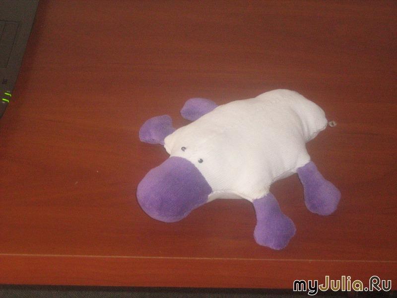 Утконос игрушка своими руками 30