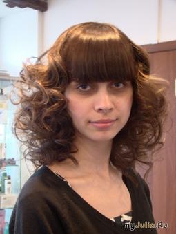 Карвинг волос с челкой фото