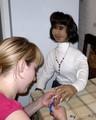 Переделанная Диана на маникюре