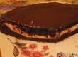 Шоколадный кекс-пирог с творожно-сырной начинкой