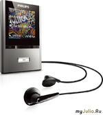 Портативные MP4-плееры GoGear ViBE от Philips: Большие возможности в миниатюрном корпусе