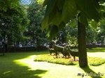 Неделю назад в Михайловском саду.