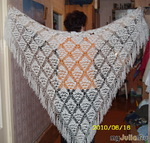 Ажурный платок