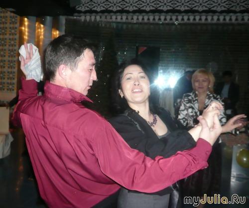 Ну что тебя так тянет танцевать!