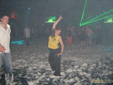 Мокрые танцы в ночи.