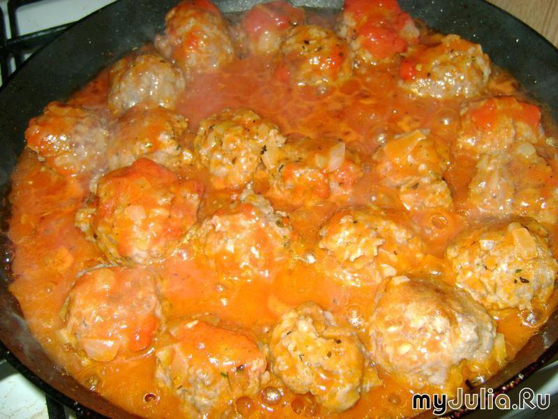 Рецепты тефтелей с подливкой в духовке пошаговый рецепт с