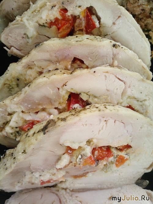 Рецепт куриного рулета из цельной курицы