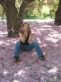 Розовый снег в середине лета
