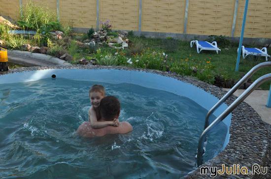 Учимся плавать;)