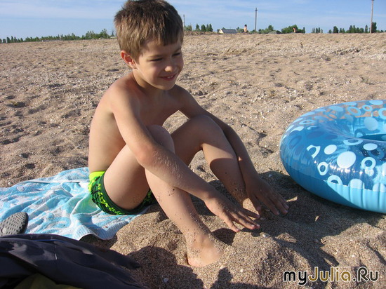 Вот сижу я на пляжу