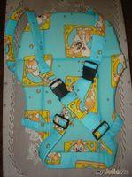 Мастер-класс по пошиву  сумки-рюкзака «Кенгуру»