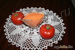 Соус из печеных томатов и чеснока.