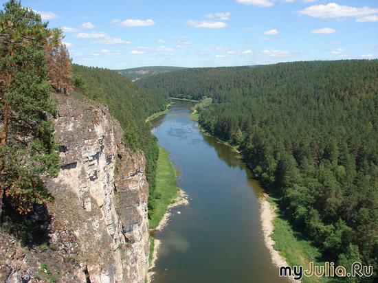 река Ай в Челябинской области - раздолье для туристов