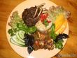 Бараньи рёбрышки с овощами(китайская кухня)
