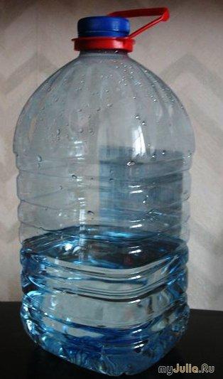 Ёмкость для мелочей из пластиковой бутылки