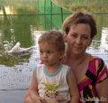 Толик, мама и лебеди