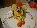 Мышь в шляпе - сырогрыз