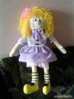 Моя  первая  кукла - примитив.