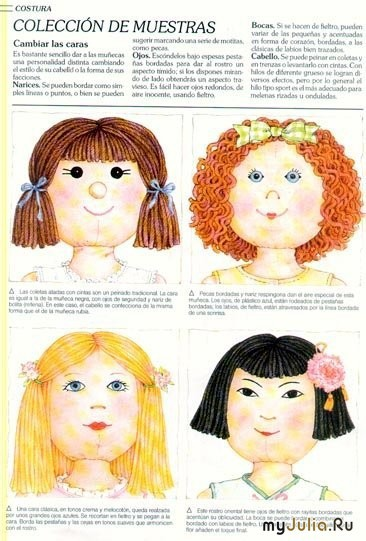 Волос для куклы